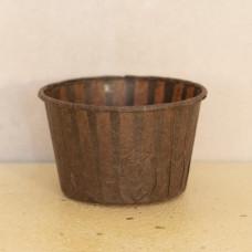 Форма бумажная одноразовая для маффинов 50/40 коричневая