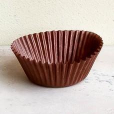 Капсула бумажная для выпечки 50*30 коричневая, 100 шт.