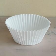Капсула бумажная для выпечки 50*35 белая, 100 шт.