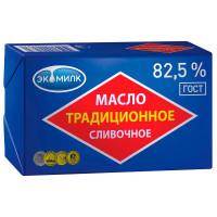 """Масло сливочное """"Экомилк"""" 82,5%, 450 гр."""