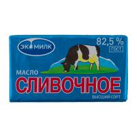 """Масло сливочное """"Коровка"""" Экомилк, 82,5%, 450 гр."""