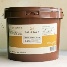 Какао-масло Callebaut в дисках, 3 кг.