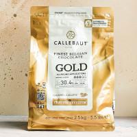 Шоколад Callebaut Gold, 2,5 кг.