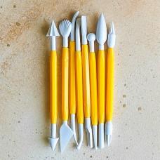 Набор инструментов для мастики и марципана, 8 предметов