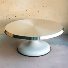 Стол поворотный белый, 29 см.