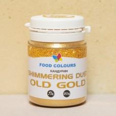 Мерцающая пудра Food Colours Старое золото, 20 гр.