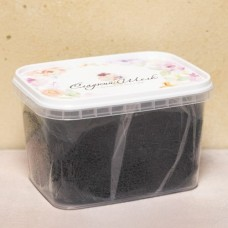 "Мастика сахарная ""Сладкий шёлк"", чёрная, 500 гр."