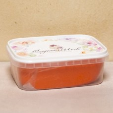 "Мастика сахарная ""Сладкий шёлк"", оранжевая, 250 гр."
