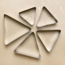 """Набор форм для выпечки """"Треугольник"""" 5 шт., 60-100/50, нерж."""