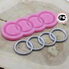 Молд силиконовый «Ауди/Audi»