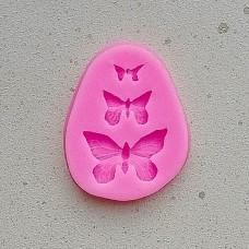 Молд силиконовый «Бабочки»