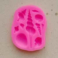 Молд силиконовый «Большие ракушки»