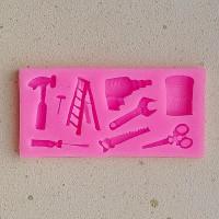 Молд силиконовый «Инструменты #1»