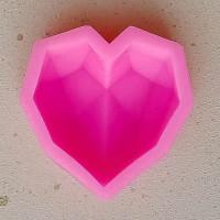 Молд силиконовый «Сердце #1»