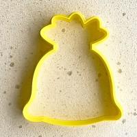 """Форма-вырубка для печенья """"Мешок с подарками"""""""