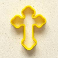 """Форма-вырубка для печенья и пряников """"Крест"""""""