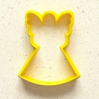 """Форма-вырубка для печенья и пряников """"Ангел #2"""""""