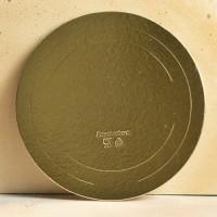 Подложка усиленная золото/жемчуг D30 см. 3,2 мм.