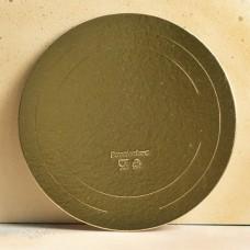 Подложка усиленная золото D20 см. 2,5 мм.