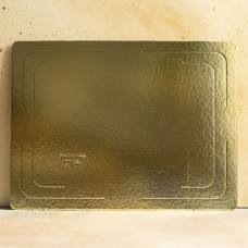 Подложка усиленная золото 30*40 см. 2,5 мм.