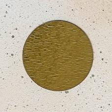 Подложка-сольерка золото D8 см. 0,8 мм., 100 шт.