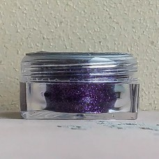 Глиттер пищевой Caramella мелкий фиолетовый, 5 гр.