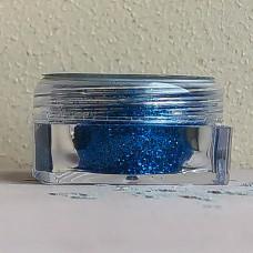 Глиттер пищевой Caramella мелкий синий, 5 гр.