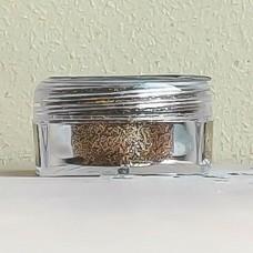 Глиттер пищевой Caramella мелкий тёмное золото, 5 гр.