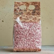 """Посыпки фигурные """"Снежинки"""" розовые перламутровые, 750 гр."""