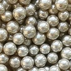 Шарики сахарные серебро, 6 мм.