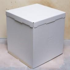 Короб картонный для торта белый 300*300*190 мм