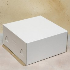 Короб для торта хром-эрзац 170*170*100 мм.