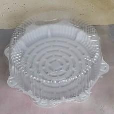 Ёмкость одноразовая для торта Т450 (дно с крышкой)