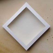 Коробка универсальная 198*198*30 мм., белая
