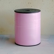 Лента декоративная для перевязки коробов розовая (п)