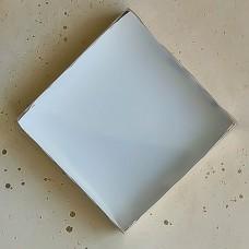 Коробка для пряников и печенья, 155*155*35 мм., золотая