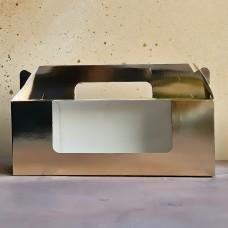 Коробка для рулета, 270*100*100 мм., золото