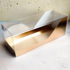 Коробка для рулета, 300*110*110 мм., золото