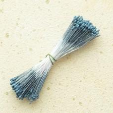 Тычинки «Японский дизайн» круглые 1 мм. синие