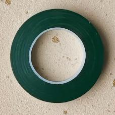 Тейп-лента флористическая широкая, тёмно-зелёный