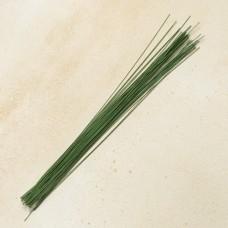Проволока флористическая 30 см., № 18 зелёная